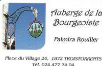 Auberge de la Bourgeoisie